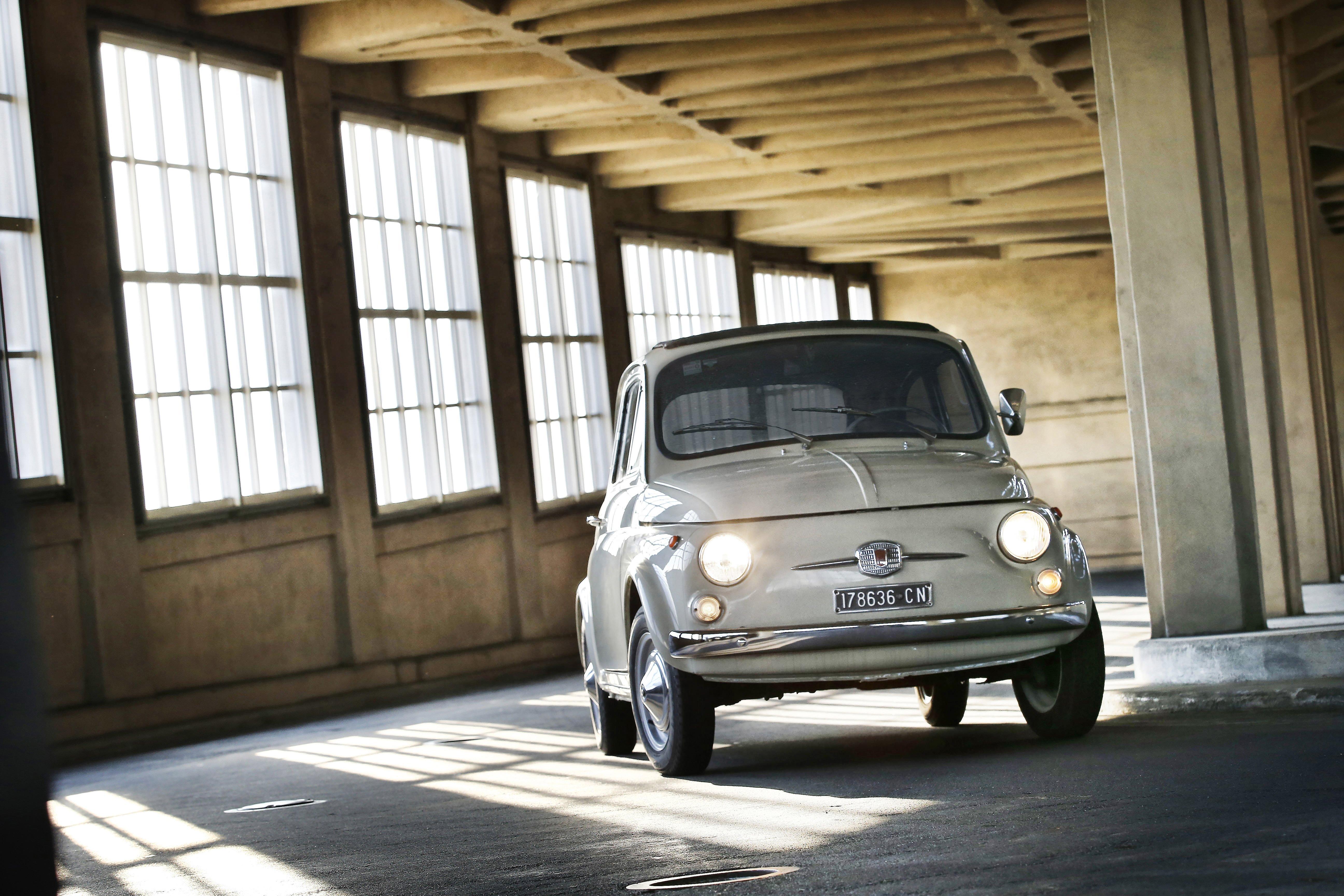 """Fiat 500 F all'esposizione """"The Value of Good Design"""" presso il Museum of Modern Art di New York"""