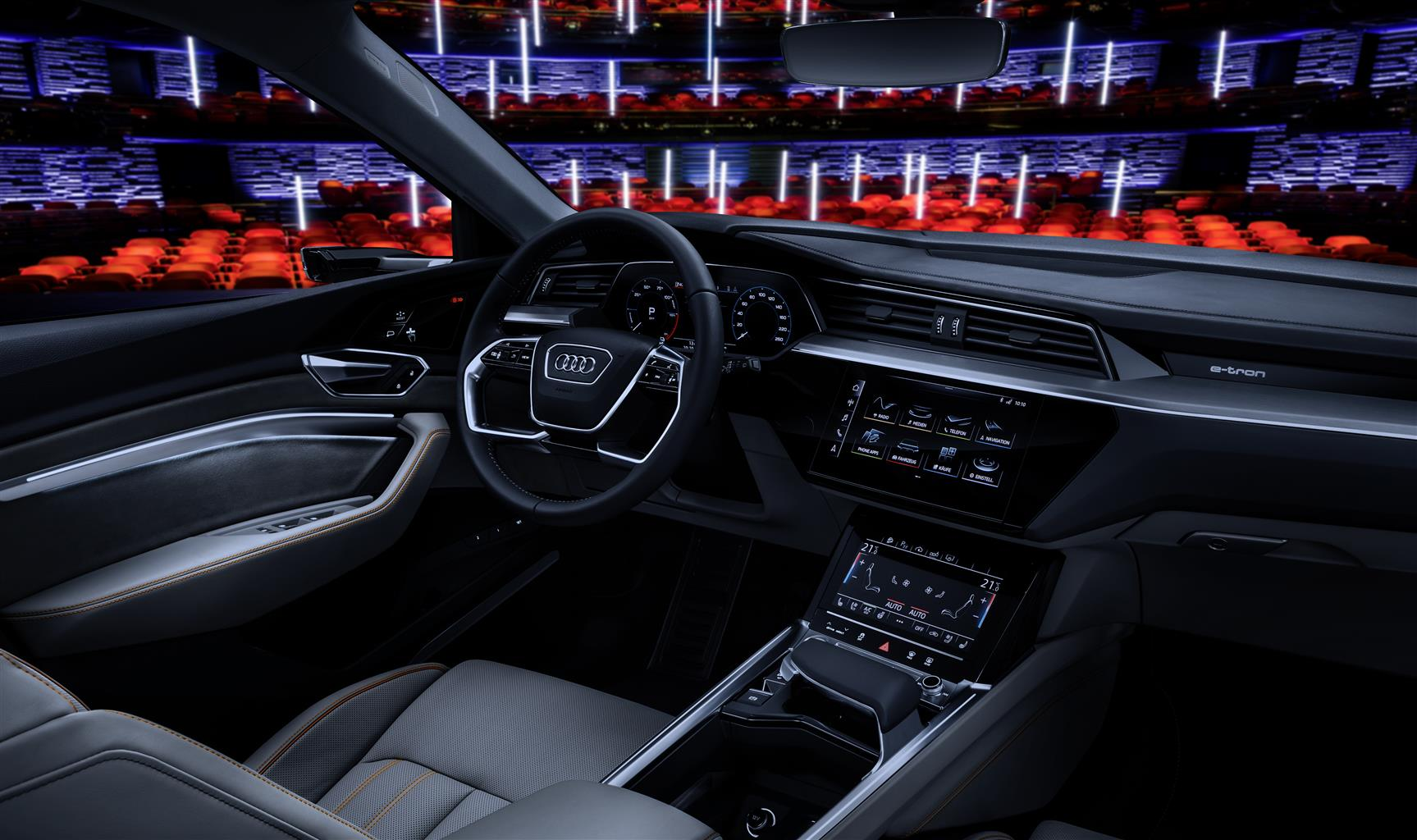 Entertainment Audi al CES 2019