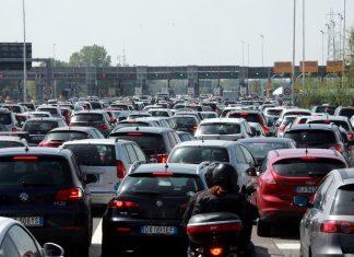 Veicoli sulle strade in aumento, +1,3%