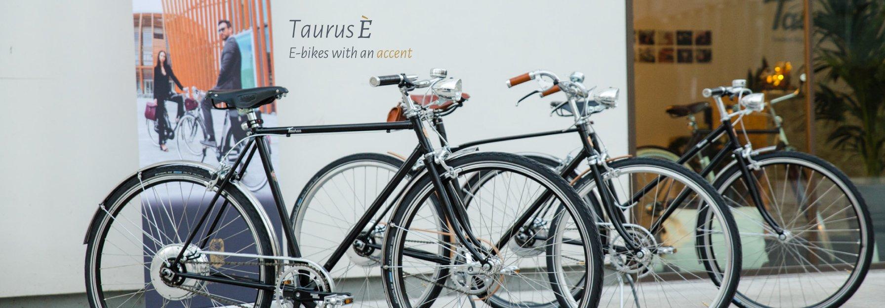 Taurus E Bike La Storia Della Bicicletta In Versione 40