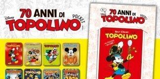 """Panini porta in edicola """"70 Anni di Topolino Pocket"""""""