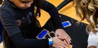 La palestra hi-tech interattiva è stata ideata per la riabilitazione di bambini con difetti della vista