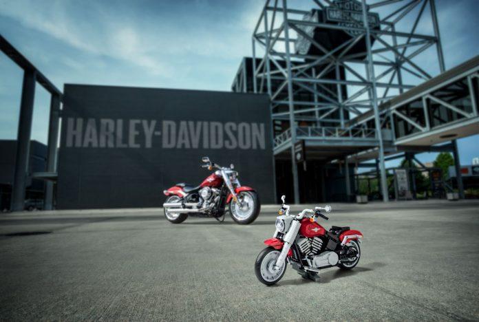 Harley-Davidson Fat Boy: ecco il modello fatto di LEGO