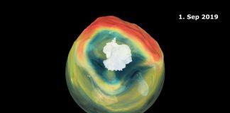 Buco dell'ozono, mai stato così piccolo dagli anni 80
