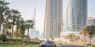 Jaguar I-PACE: test di guida autonoma sulle strade di Dubai