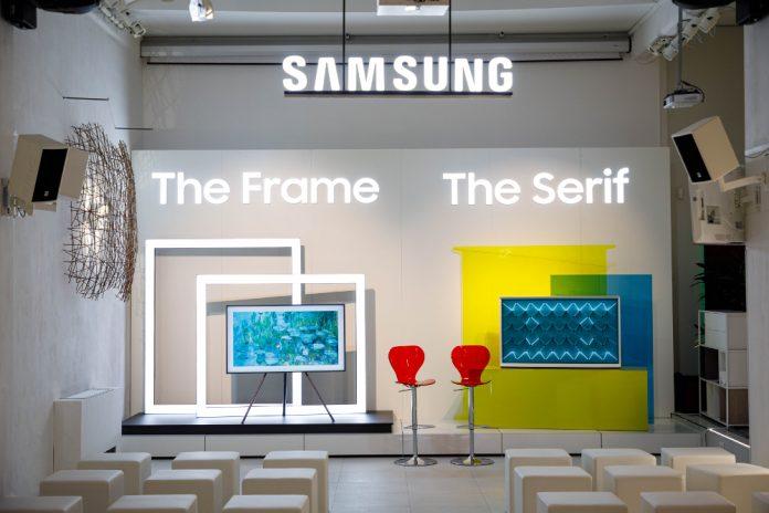 Ecco i nuovi televisori Lifestyle di Samsung