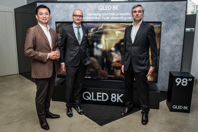 Il primo servizio streaming in 8K al mondo