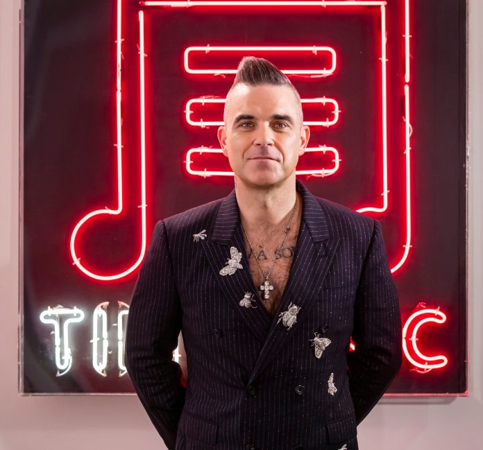 Robbie Williams si racconta su TIMMUSIC