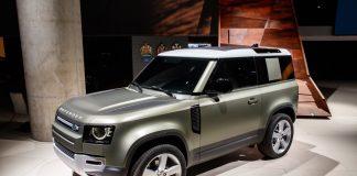 La nuova Land Rover Defender al CES di Las Vegas