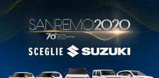 Il Festival di Sanremo sceglie Suzuki come Auto Ufficiale