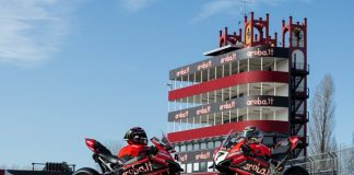 """La torre simbolo del circuito di Imola diventa """"Aruba"""""""