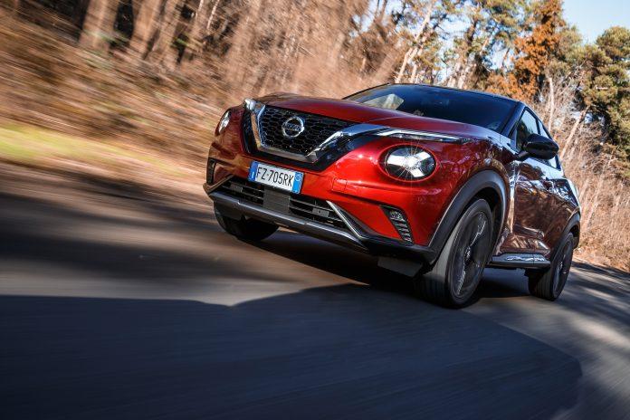 Nuovo Nissan JUKE: sicurezza, controllo e piacere di guida