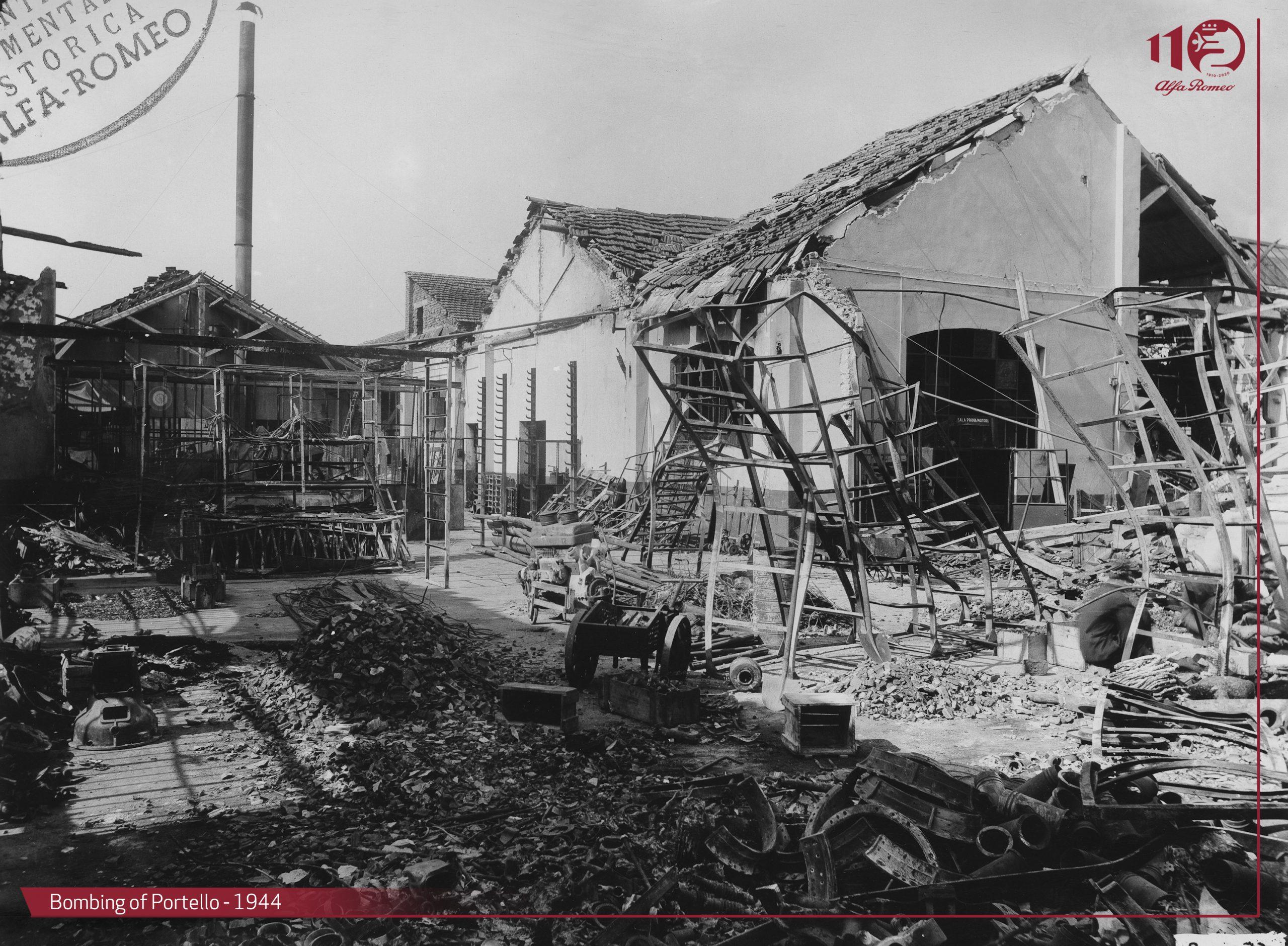 Seconda guerra mondiale: bombardamenti al Portello