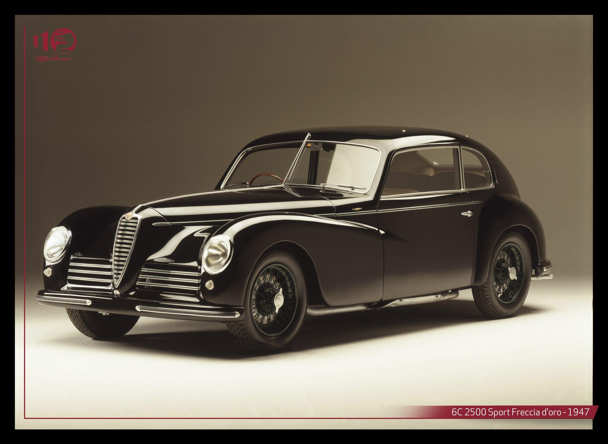 Alfa Romeo 6c 2500 sport freccia d'oro 1947