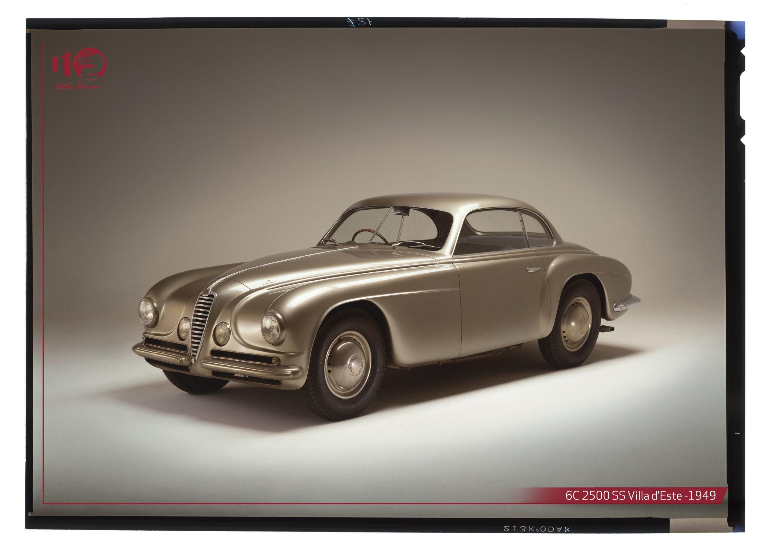 """Alfa Romeo 6C 2500 SS """"Villa d'Este del 1949"""