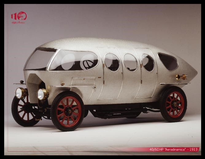 Alfa romeo 40 hp aerodinamica