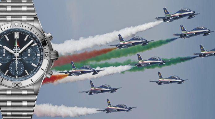 Breitling omaggia le Frecce Tricolori