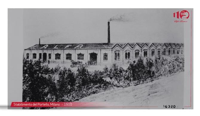 Portello, milano 1910
