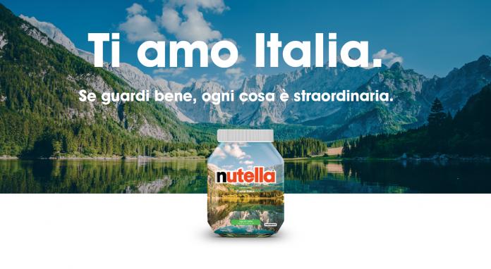 """Nutella celebra il nostro Paese con la special edition """"Ti amo Italia"""""""